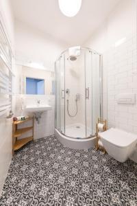 Łazienka w obiekcie PlayRoom Aparthotel