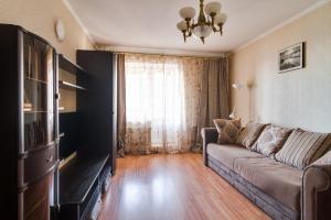 Гостиная зона в Апартаменты на Есенина