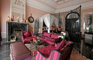 A seating area at Palais Ronsard Relais & Chateaux
