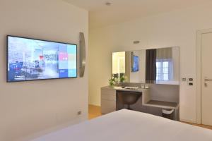 TV/Unterhaltungsangebot in der Unterkunft Urban Hotel Design