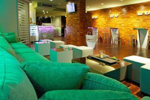 Salon ou bar de l'établissement Boutique Hotel Bol