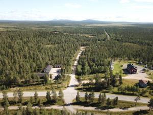 Majoituspaikan Vuotson Maja B&B kuva ylhäältä päin
