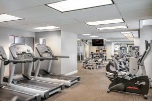 The fitness center and/or fitness facilities at Residence Inn Washington DC/Capitol