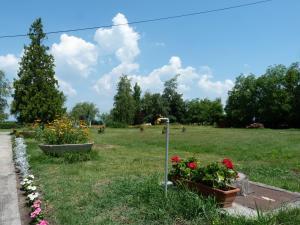 A garden outside Éden Panzió