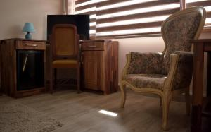 """A seating area at Hotel """"VIR"""""""