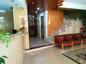 The lobby or reception area at Hotel Dom Vilas