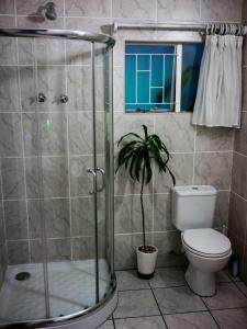 A bathroom at Africa's Eden Guesthouse