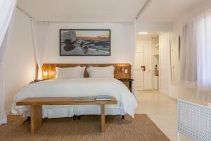 Cama ou camas em um quarto em Pousada Estrela D' Água