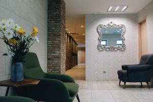 The lobby or reception area at Maison Boutique Hotel