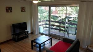 A television and/or entertainment center at 2bedroom entire unit freeparking walktotrain&ferry