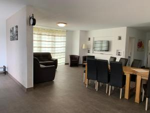 אזור ישיבה ב-Apartment - Pension Marianna