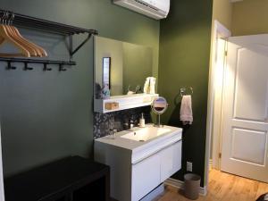 A bathroom at Gîte Ocoin