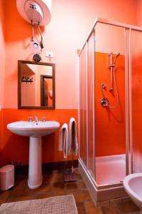 A bathroom at Casa del Loggiato