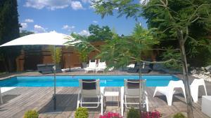 The swimming pool at or near Box Art Hotel - La Torre