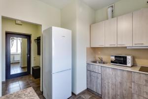 Кухня или мини-кухня в Апарт-отель Грин Холл