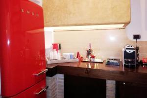 Cuisine ou kitchenette dans l'établissement Luxury Trastevere