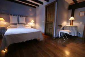 Cama o camas de una habitación en Posada Reserva Verde
