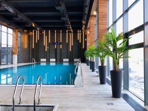 The swimming pool at or near Aqua-Minsk Hotel Plus