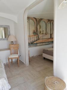 A seating area at Villa Anna