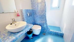A bathroom at Artemis Village