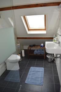 A bathroom at Bed & Breakfast Tegenover de Molen