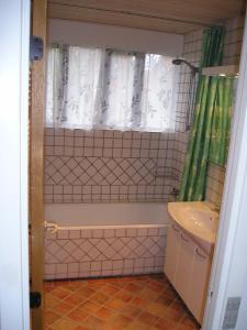 Et badeværelse på Sydstrandens B&B