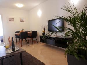 A television and/or entertainment center at Melody Apartment