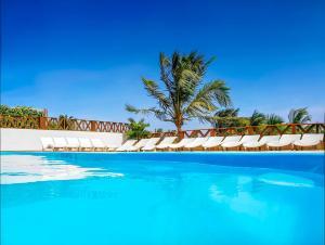 The swimming pool at or near Pousada do Norte