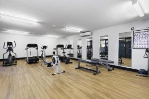 The fitness center and/or fitness facilities at The Rocks Resort, Unit 8G