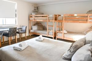 A bunk bed or bunk beds in a room at The Manly Hotel Est. 1964