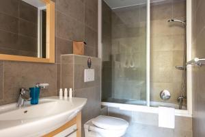 A bathroom at Résidence Vasca d'Oro