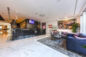 The lobby or reception area at Hotel Salona Palace