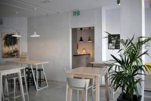Εστιατόριο ή άλλο μέρος για φαγητό στο Zefyros Sea View Hotel