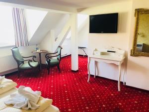 TV/Unterhaltungsangebot in der Unterkunft Hotel Alt Görlitz