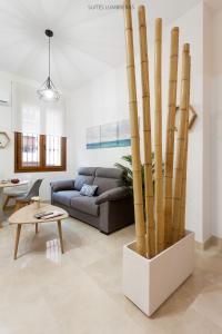 Zona de estar de Suites Lumbreras