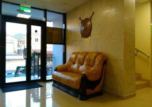 A seating area at Troya Mini-hotel