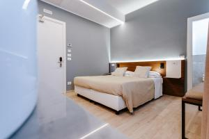 Кровать или кровати в номере Hotel Villa Katy