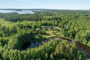 A bird's-eye view of Ålebro stugby och camping
