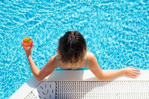The swimming pool at or near GF GRAN COSTA ADEJE*****