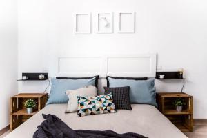 Cama ou camas em um quarto em ilbricco