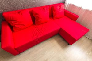 A seating area at VipHouse Dzhalilya Kiekbaeva 4