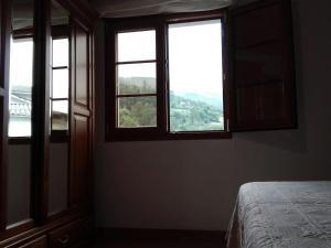 Vista general de una montaña o vista desde la casa o chalet