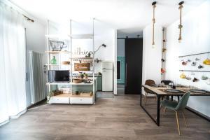 A cozinha ou cozinha compacta de ilbricco