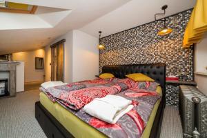 Postel nebo postele na pokoji v ubytování Pension Padre