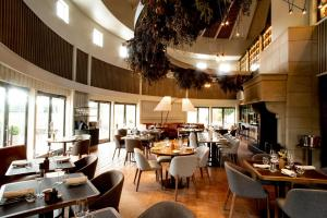A restaurant or other place to eat at Craggy Range Luxury Vineyard Retreat