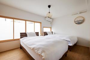 HANARE KYOTO Inにあるベッド