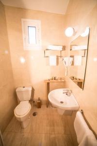 A bathroom at Hotel Iberia
