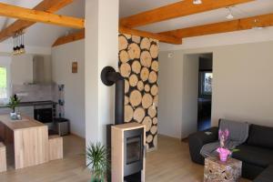 Küche/Küchenzeile in der Unterkunft Lifestyle Ferienhaus