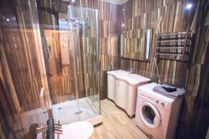 A bathroom at Бан
