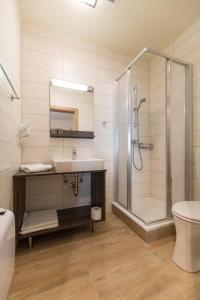 Ein Badezimmer in der Unterkunft Weingut & Gästehaus Markus Tschida